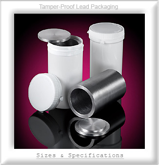 Tamper-Proof Lead Packaging